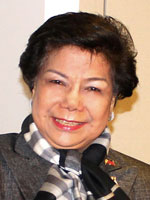 Lilia de Lima, Director General of the Philippine Economic Zone Authority (PEZA)