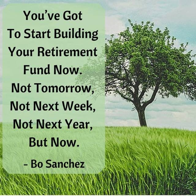 Start Building Your Retirement Fund Now!
