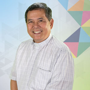 Fr. Larry Tan, SDB is an educator, retreat master and author. He is Missions Director of the Salesians of Don Bosco.